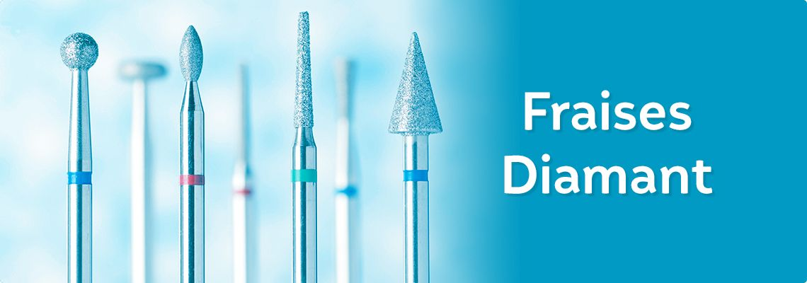 Precxis distributeur exclusif Frank Dental - Fraises Diamant