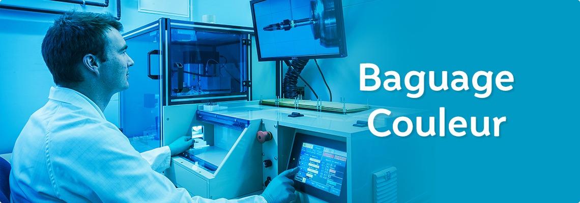 Precxis outils dentaires et medicaux - Baguage Colorimétrique